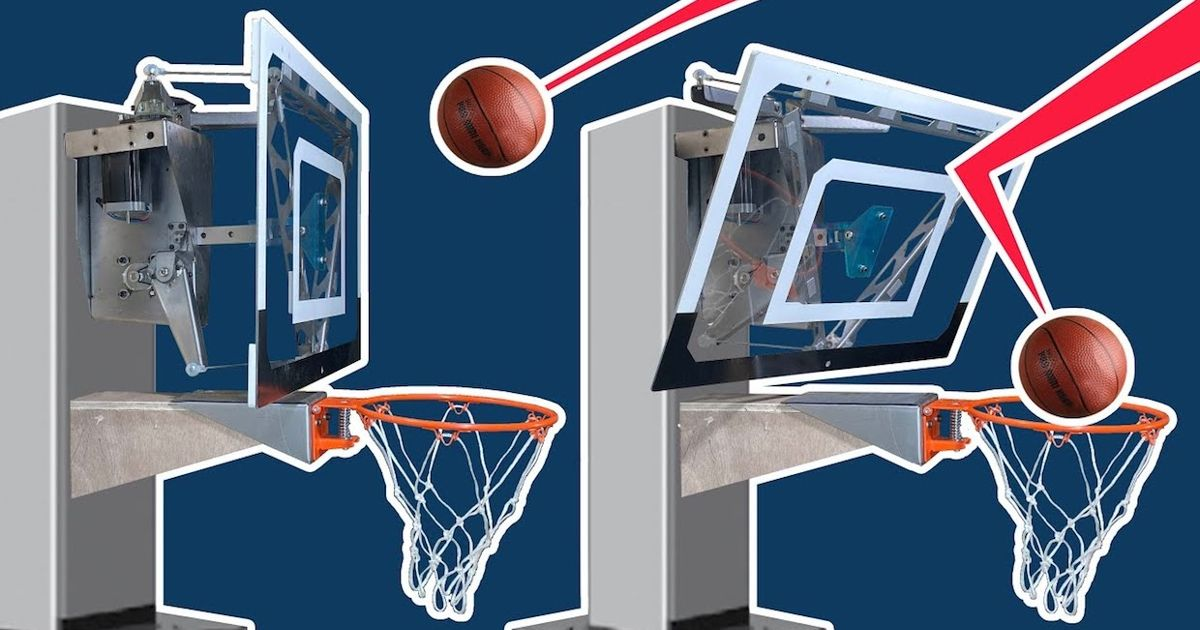 Video Friday: This Robotic Basketball Hoop Won't Let You Miss