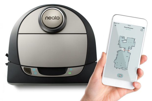 Neato Adds Persistent Actionable Maps To New D7 Robot