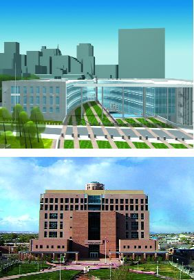 proposed replacement for the Murrah federal building in Oklahoma City