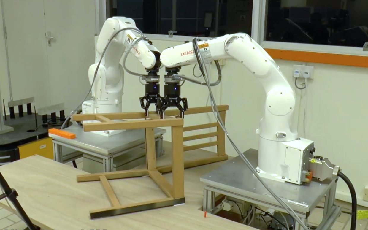 Robots Continue Attempting To Master Ikea Furniture Assembly
