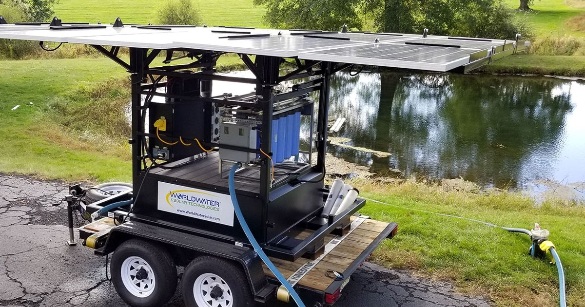 How Solar Powered, Mobile Water Purifiers Can Help Cities
