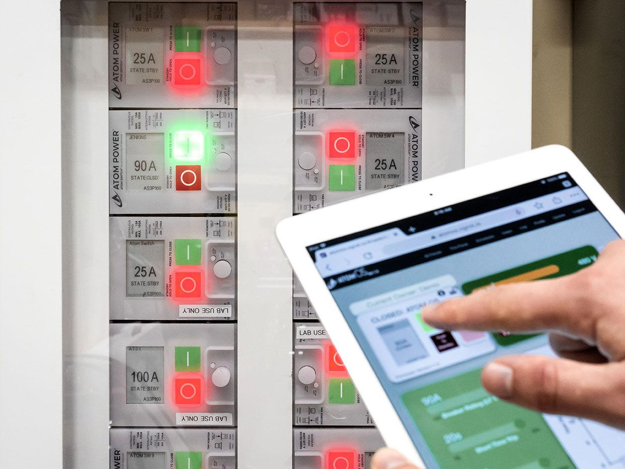 Atom Power is launching the first UL safety-certified digital circuit breaker panel combined with smart software and connectivity that could help monitor and control energy use of buildings remotely.