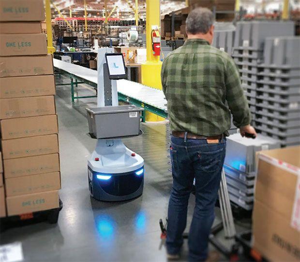 How Locus Robotics Plans to Build a Successor to Amazon's Kiva Robots