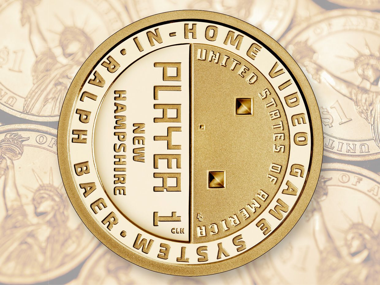 Photo Illustration of a coin.