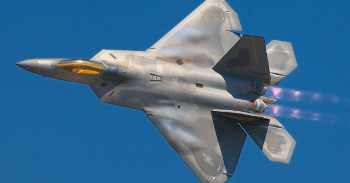Fastest Jet Fighter Lockheed Martins F22 Raptor - IEEE Spectrum