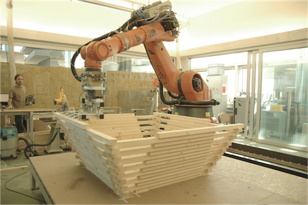 Architects Using Robots To Build Beautiful Structures Ieee Spectrum