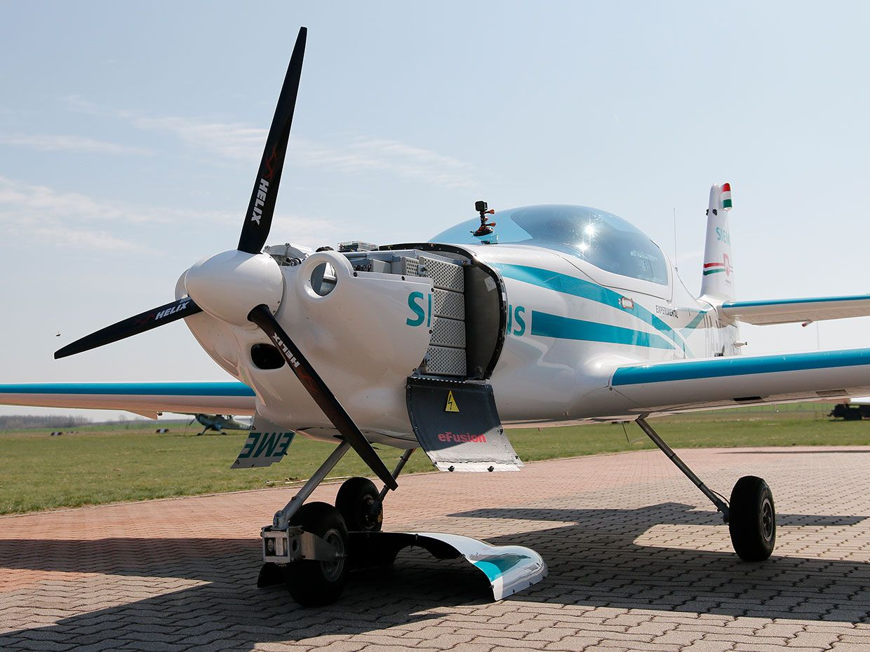 Prototype Electric Plane Built By Siemens And Magnus