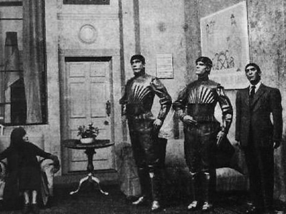 <b>R.U.R.:</b> (1920) The famed Czech play introduced not only the word robot but also the first robot uprising.