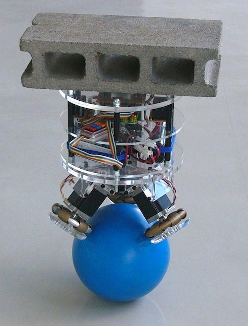 a robot that balances on a ball ieee spectrum