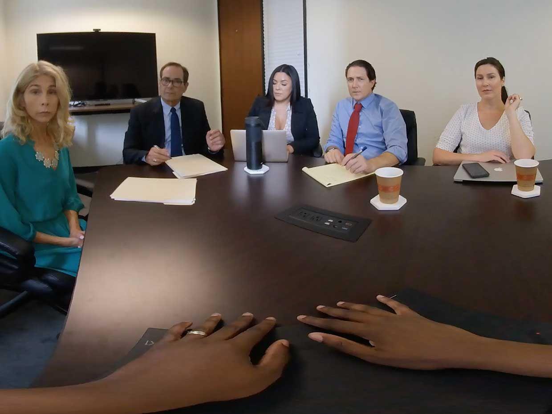A Virtual Reality Bias Simulator
