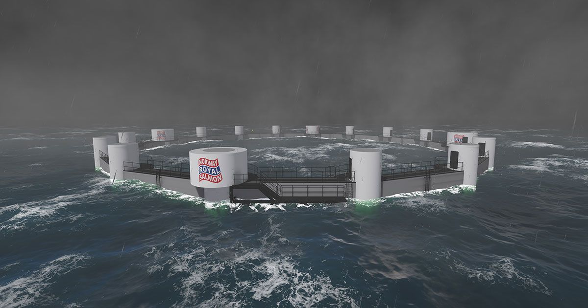 Remote-controlled Salmon Farms to Operate Off Norway by 2020