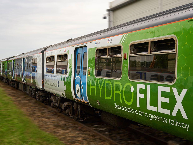 All Aboard The U K 'S First Hydrogen Train IEEE Spectrum