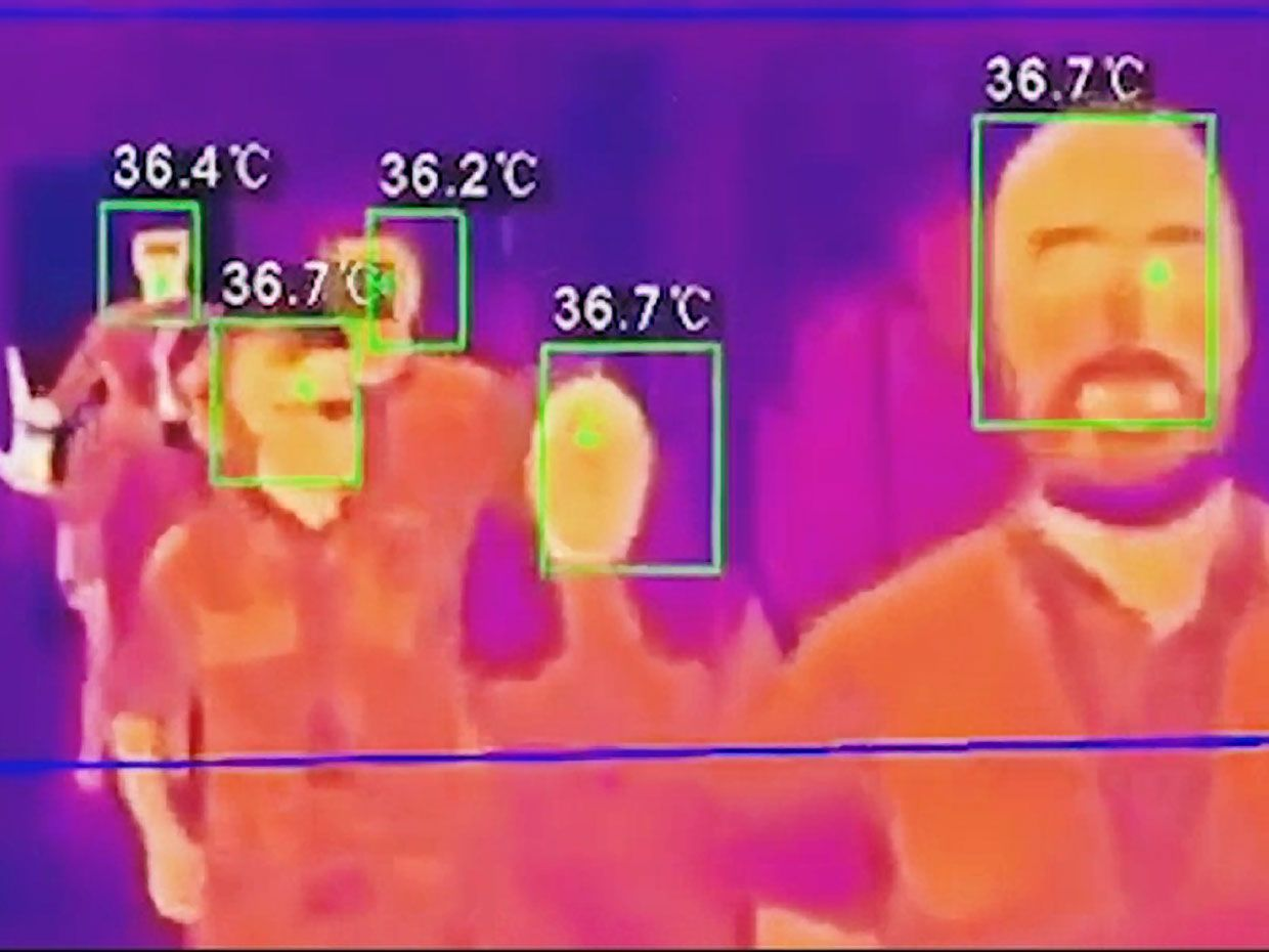 Entering a Building May Soon Involve a Thermal Scan and Facial Recognition