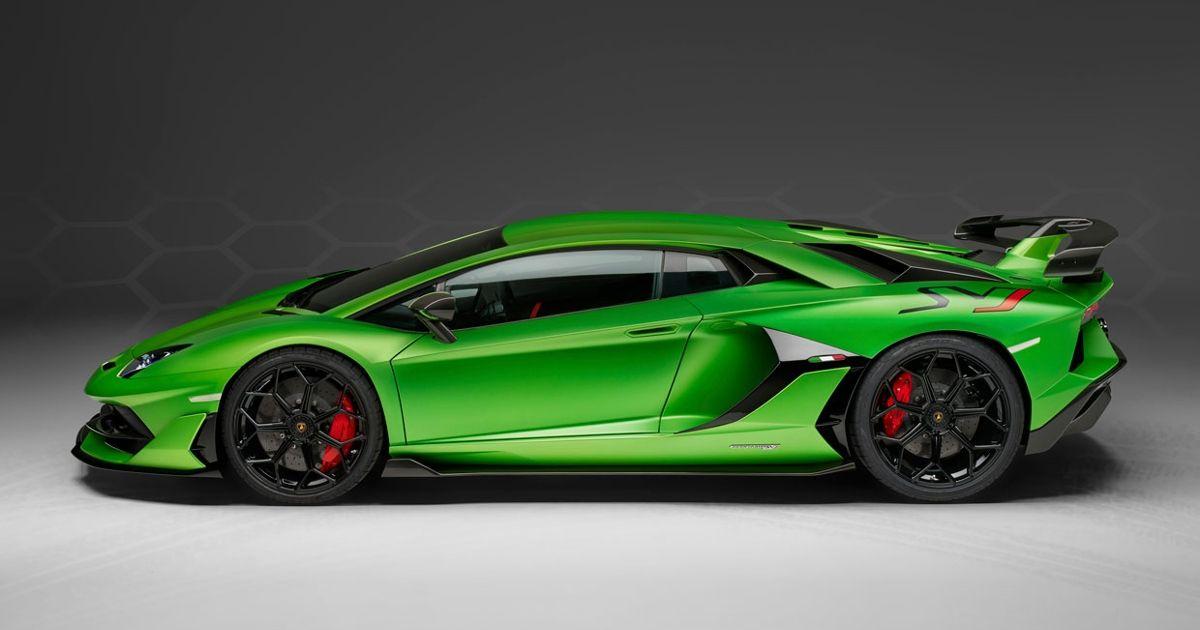 2019's Top 10 Tech Cars: Lamborghini Aventador SVJ - IEEE Spectrum