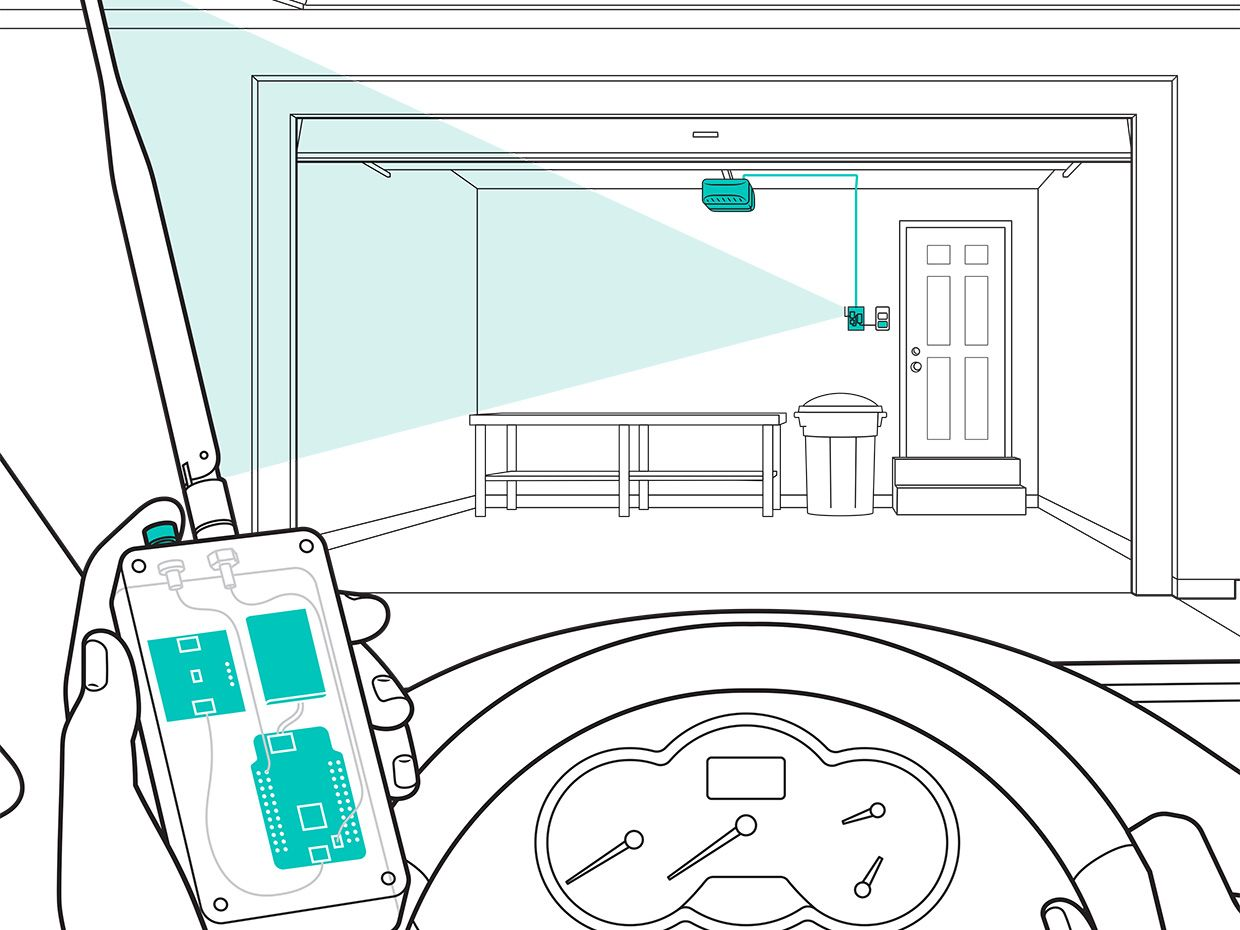 How To Build A Hack Proof Garage Door Opener Ieee Spectrum