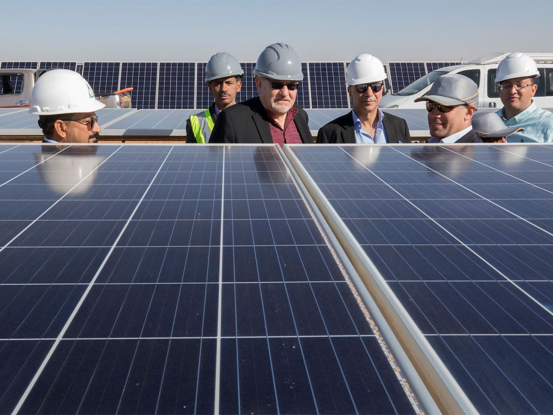 Egypt's Massive 1.8-Gigawatt Benban Solar Park Nears Completion