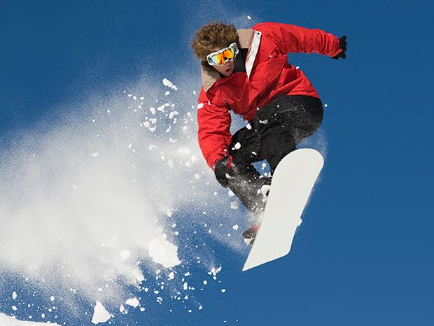 Wearable Device Tracks Tricks In Freestyle Snowboarding
