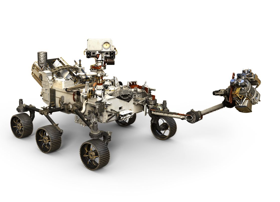 This Is the Most Powerful Robot Arm Ever Installed on a Mars Rover