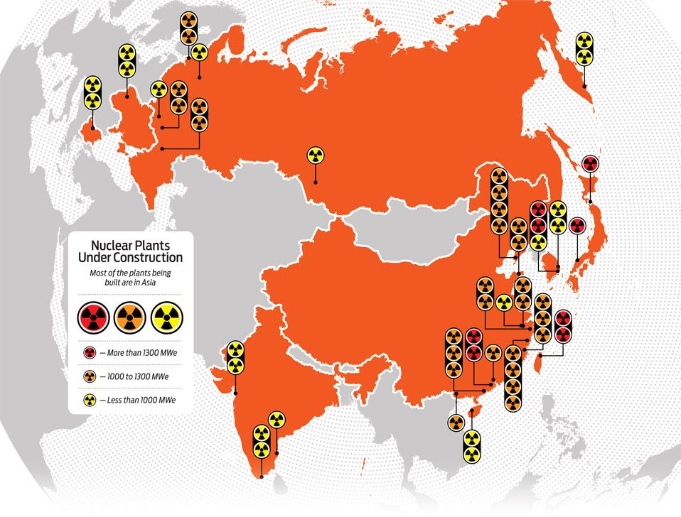 graphic map of nuclear plants under constr