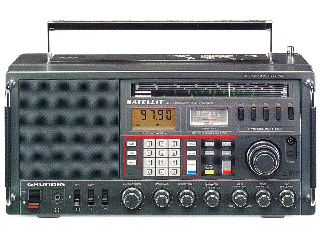 The Consumer Electronics Hall of Fame: Grundig Satellit 650 Radio - IEEE  Spectrum