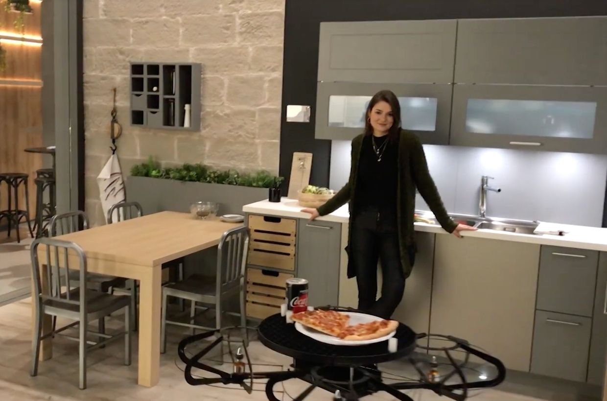 Video Friday: This Drone Is a Flying Tray for Your Smart Home