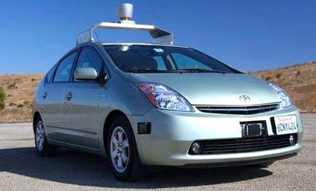 google self-driving robotic car