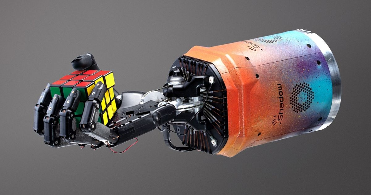 OpenAI Teaches Robot Hand to Solve Rubik's Cube