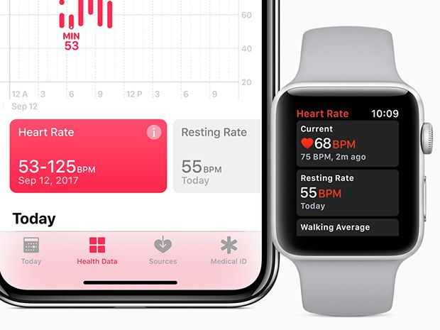 Bildresultat för apple watch 3 pulse