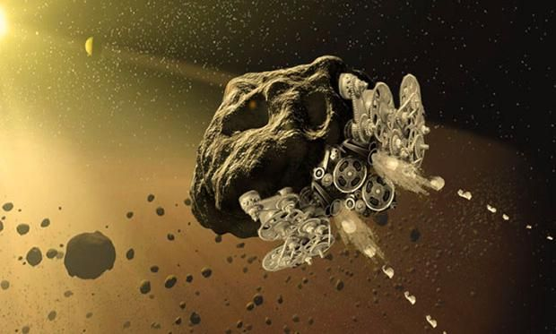 Project RAMA: Turning Asteroids Into Catapult-Powered Analog Spacecraft - IEEE Spectrum