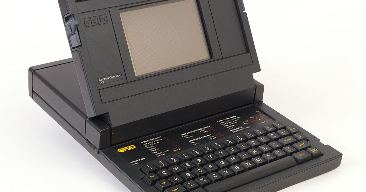 NASA's Original Laptop: The GRiD Compass