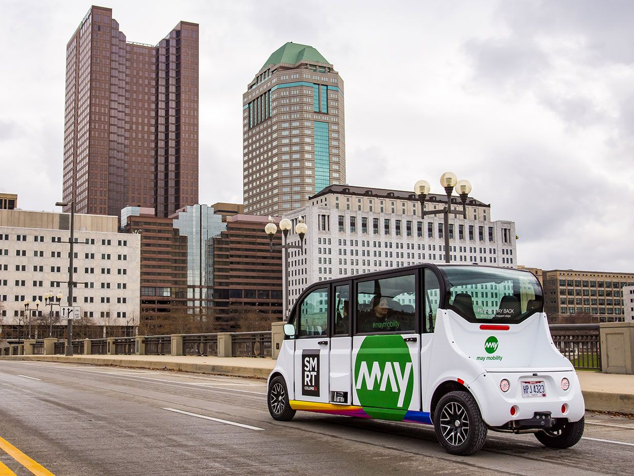 May Mobility Shuttle in Ohio