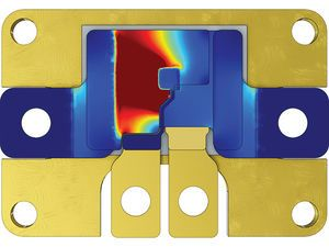 Design engineers use multiphysics simulation to optimize the performance of power modules