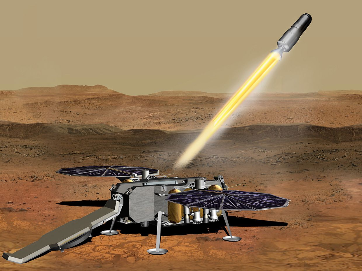 The Mars Sample Return Mission Will Be a First for Humankind