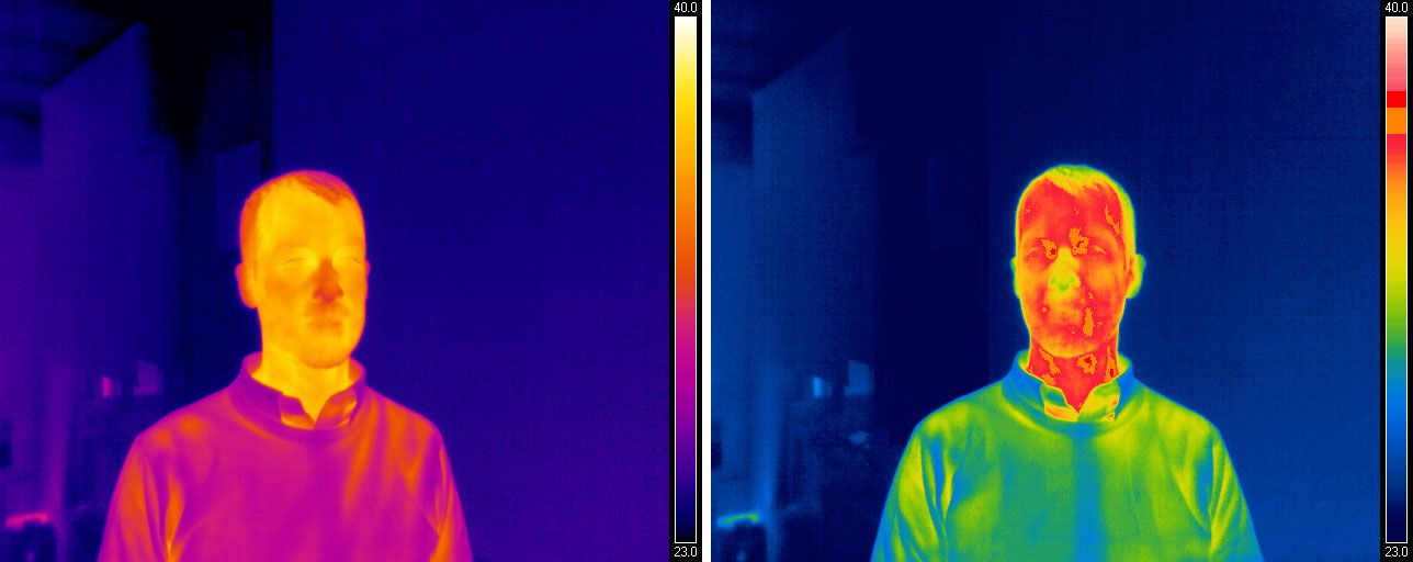 Researchers are using FLIR Systems thermal cameras paired with bcbTempScan software to do fever screenings.
