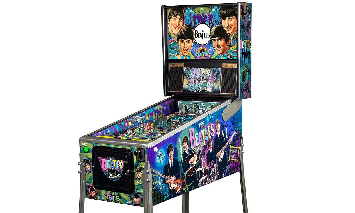 Beatles pinball machine from Stern Pinball.