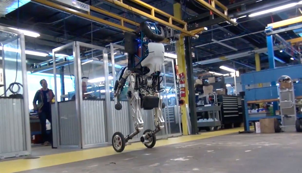 Boston Dynamics' Handle robot