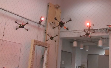 grasp lab quadrotor formation
