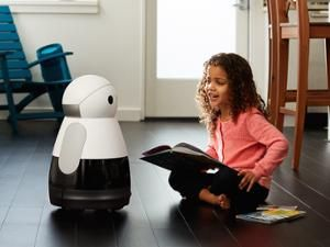 Kuri is friendly home robot developed by Mayfield Robotics