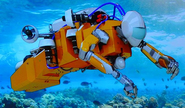 Stanford's Humanoid Diving Robot Takes on Undersea Archaeology and Coral Reefs