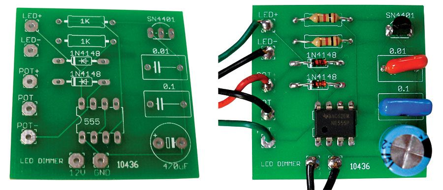 build a custom-printed circuit board