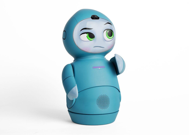 Moxie social robot
