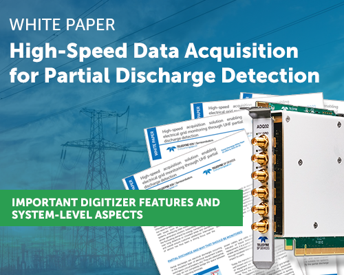Hight-Speed Data Acquisition for Partial Discharge Detection