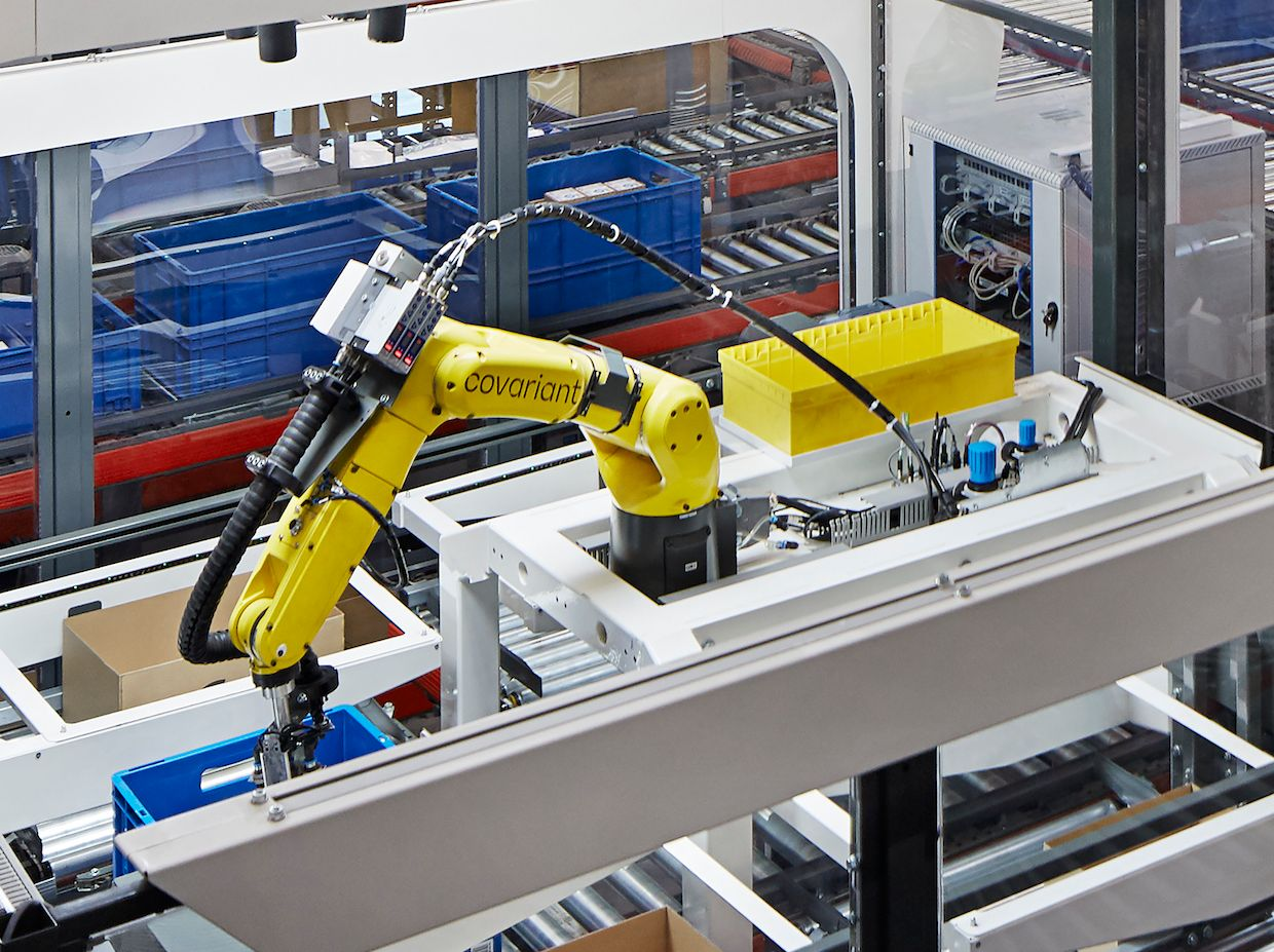 Covariant Uses Simple Robot and Gigantic Neural Net to Automate Warehouse Picking