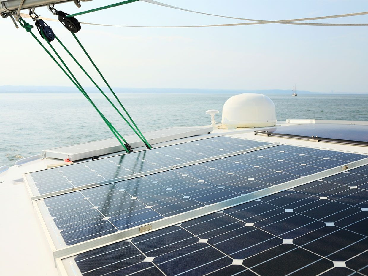 Electric Boats Could Be Floating Batteries for Island Microgrids