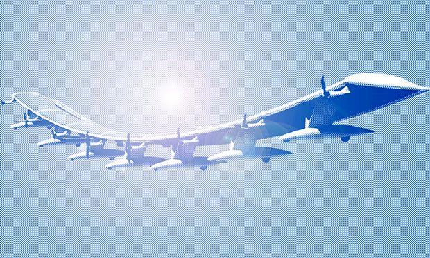 پرواز اولین هواپیمای بدون سرنشین اینترنتی خورشیدی ارو وایرنمنت (AeroVironment)