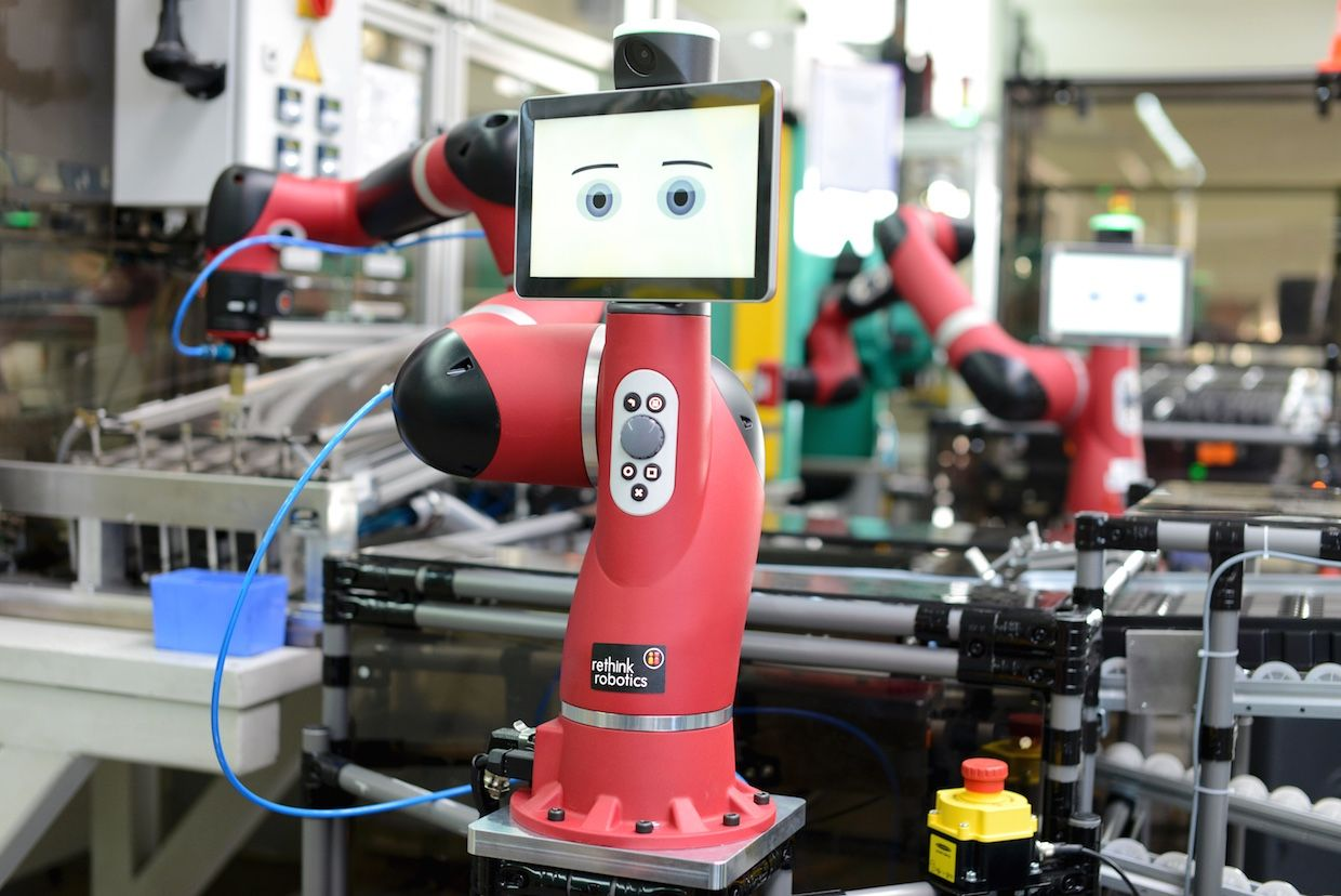 Rethink Robotics' Sawyer robot with Intera 5 software platform