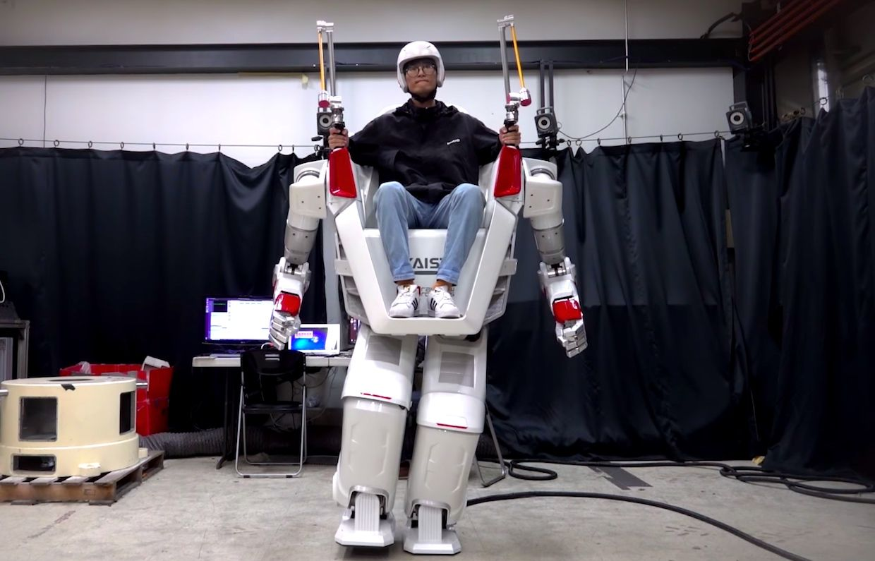 FX-2 Giant Human Riding Robot from KAIST HuboLab