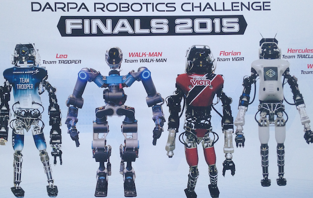 darpa challenge A south korean team took home the top prize on saturday at the darpa robotics challenge finals.