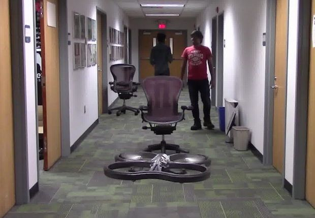 Drone uses deep learning and 11,500 crashes to learn how to fly