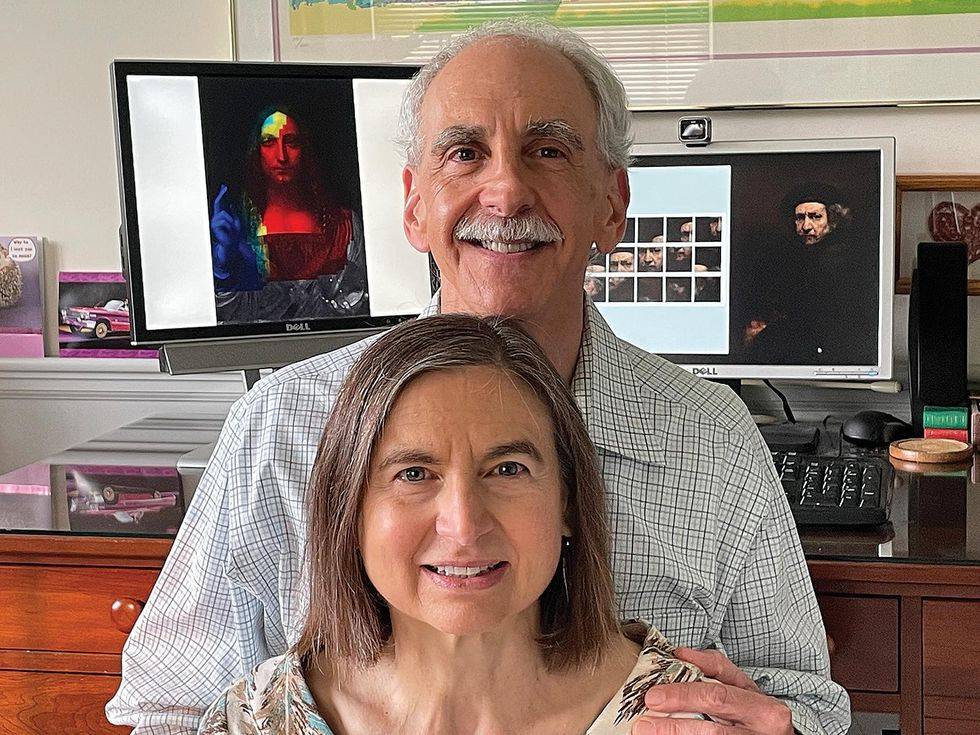 Photo of Steven and Andrea Frank